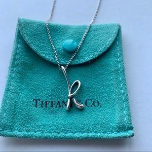 Tiffany & Co. Elsa Peretti® K initial necklace